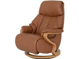 Himolla Chester Large Swivel Cumuly Manual Recliner Chair