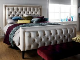 Boss upholstered bed
