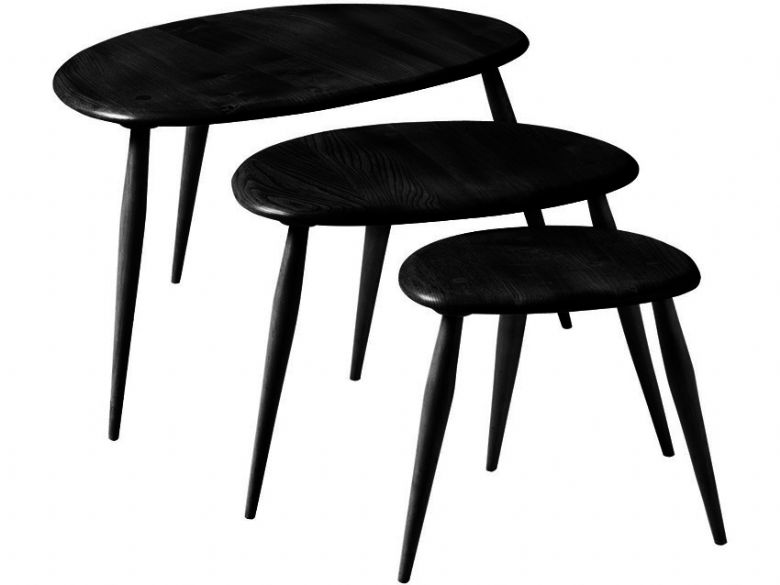 nest of tables black