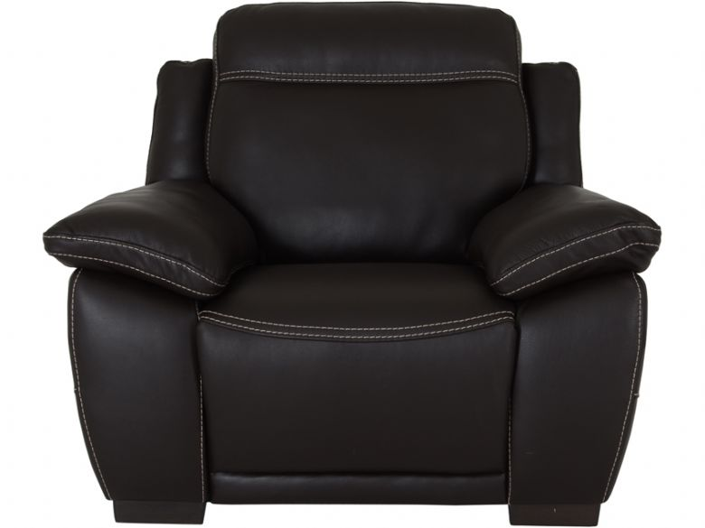 Marco electric armchair in dark brown leather  sc 1 st  Lee Longlands & Natuzzi Editions Marco Electric Recliner Armchair - Lee Longlands islam-shia.org