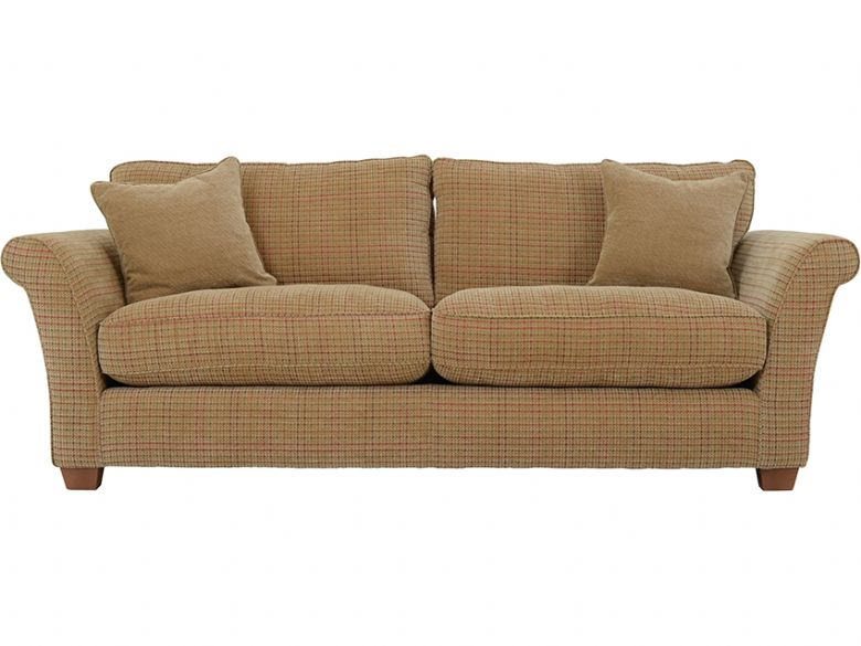 4 Seater Casual Fabric Sofa