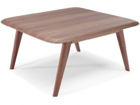 Chianti Modern Square Walnut Coffee Table