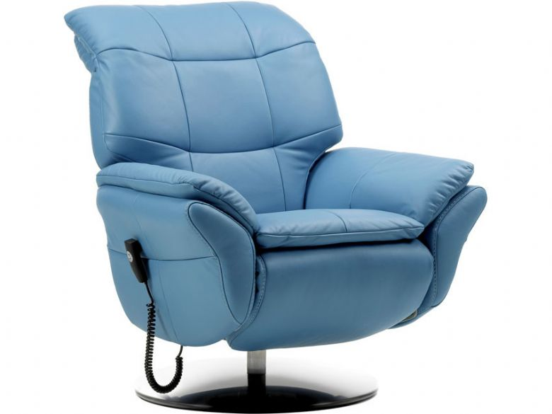 Rom Stylo Leather Electric Recliner Chair Lee Longlands