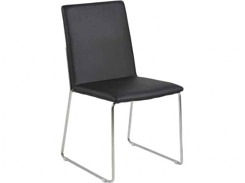 Black Titus dining chair
