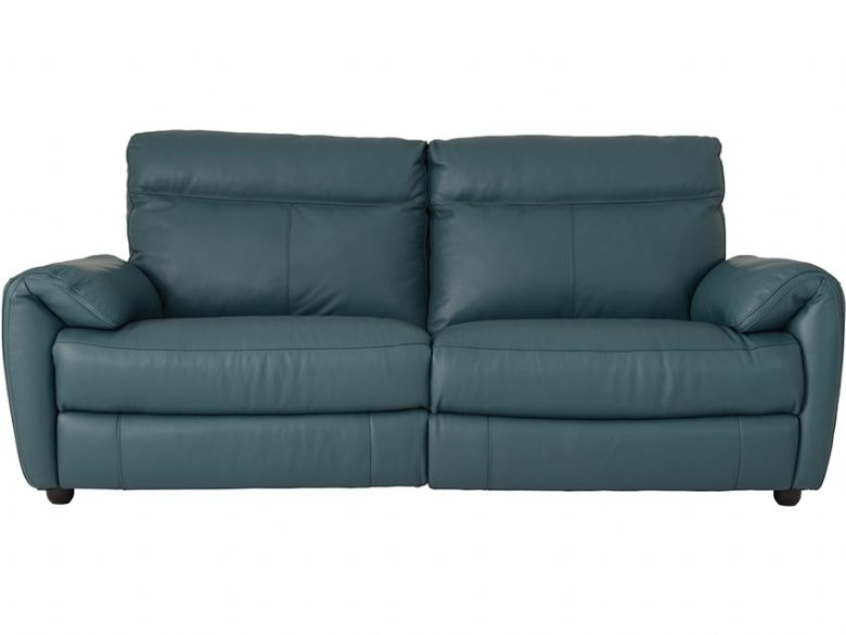 2.5 Seater Leather Sofa With 2 Power Recliners