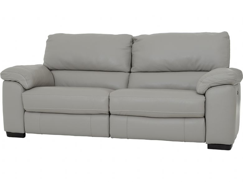 Rosie 2.5 Seater Leather Sofa With Electric Recliners