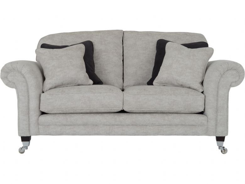 Grosvenor small sofa in Dagano plain chalk