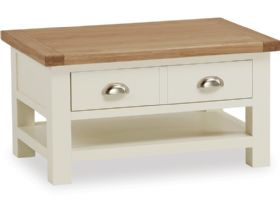 Painted Oak Small Coffee Table