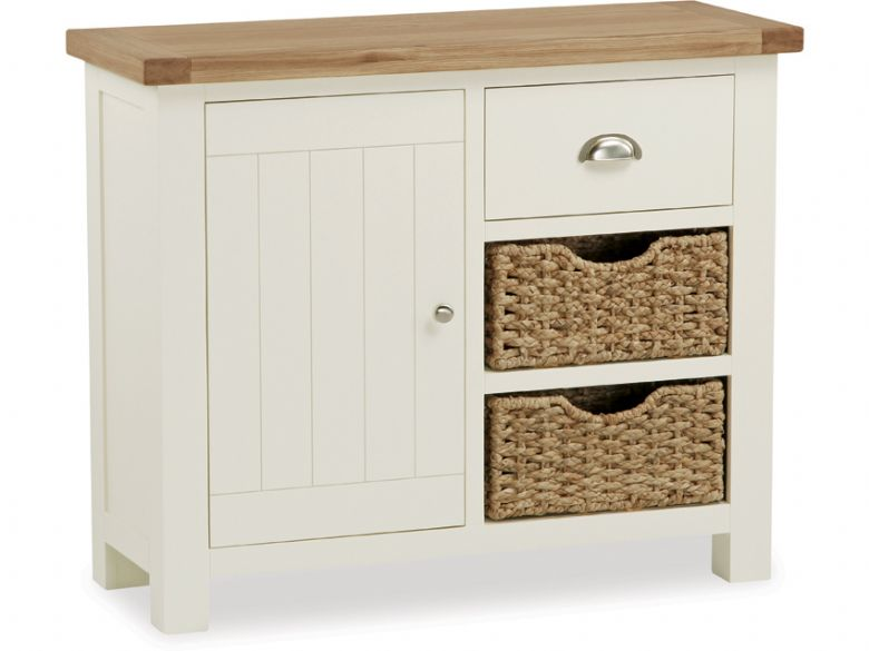 Small sideboard with baskets