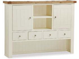 Painted Oak Hutch