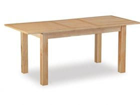 Compact extending dining table
