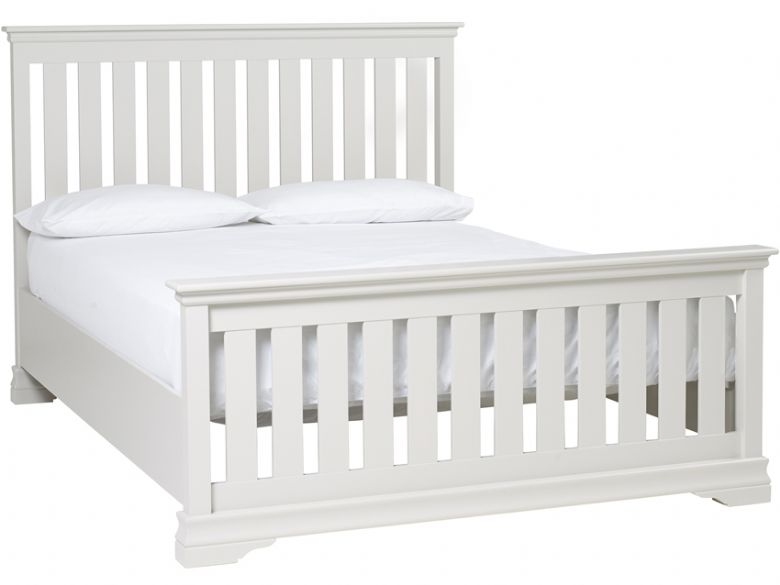 imperial cleveland high end painted king size bed frame