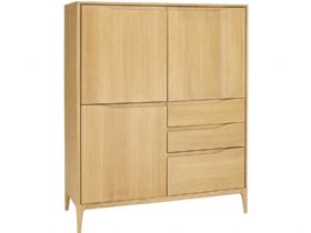 Oak Highboard
