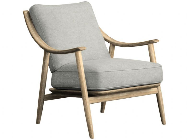 700 Ercol Marino armchair in grey fabric