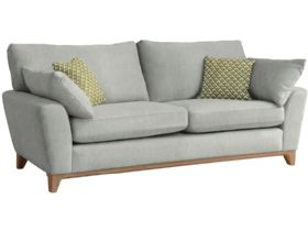 Grand Fabric Sofa With Pale Oak Feet