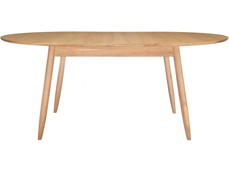 Ercol Teramo 3660 small extending dining table - opened