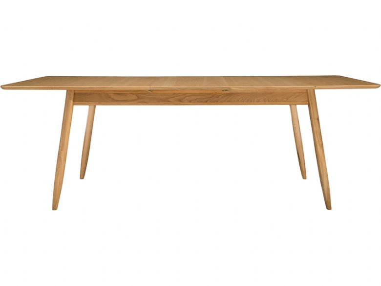 Ercol Teramo 3661 oak medium extending dining table