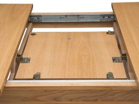 Ercol Teramo dining collection - medium extending dining table