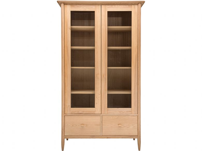 Oak DisplayCabinet