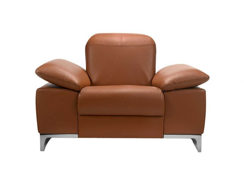 Rom Teatro modern leather chair