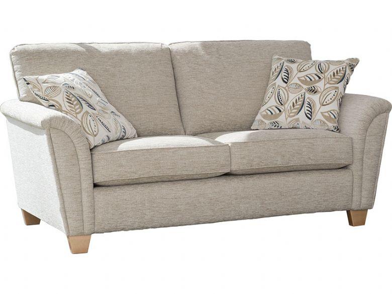 Alstons Barcelona 2 Seater Modern Fabric Sofa - Lee Longlands