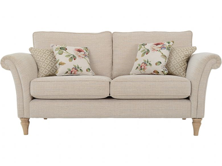 2 Seater Standard Back Fabric Sofa
