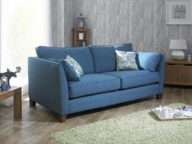 Norton modern retro fabric sofa range