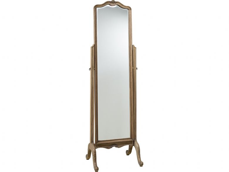 Ashwell weathered cheval mirror