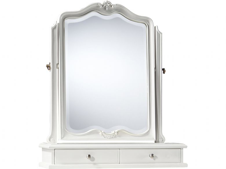 chalk dressing table mirror