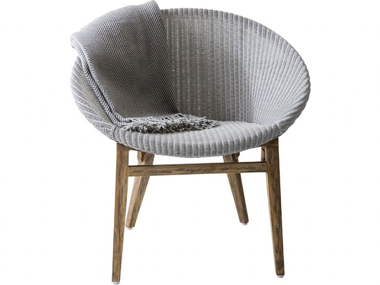rosie light grey weave tub chair lee longlands. Black Bedroom Furniture Sets. Home Design Ideas