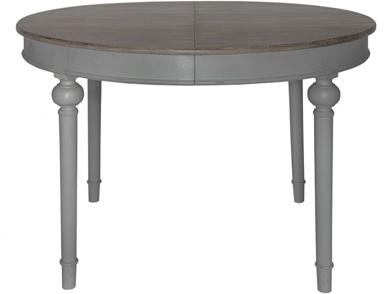Laurent Dark Grey Round Extending Dining Table Lee Longlands : 174439bA from www.leelonglands.co.uk size 780 x 585 jpeg 25kB