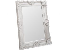 Elston White Mirror 46.5 x 35""