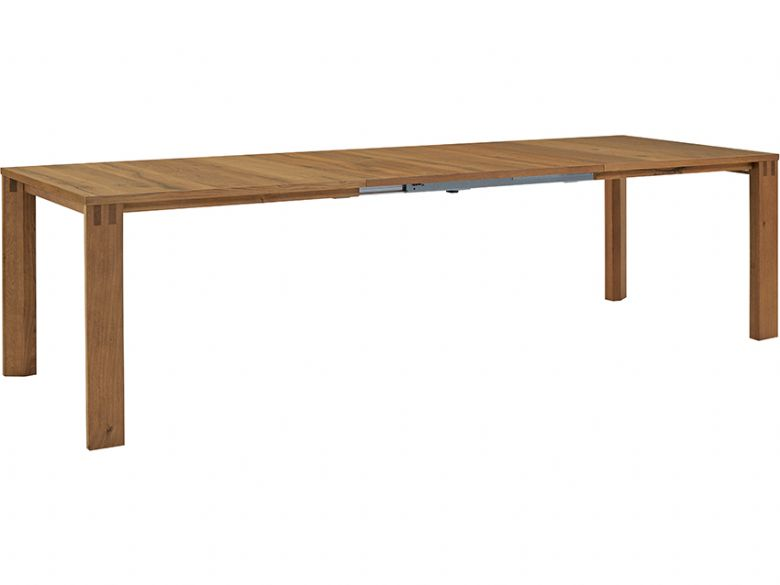 Multi Flex dining table in col walnut oiled finish
