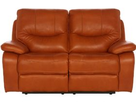 Lexworth Modern 2 Seater Leather Manual Recliner Sofa Lee Longlands