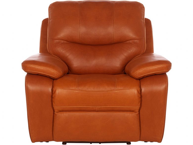 Lexworth Modern Leather Manual Recliner Chair