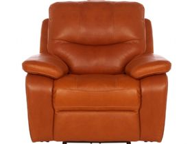 Lexworth modern leather recliner chair
