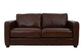 Kentville 2.5 Seater Leather Sofa Front