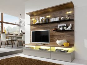 Felino Wall Combination TV Unit Lifestyle