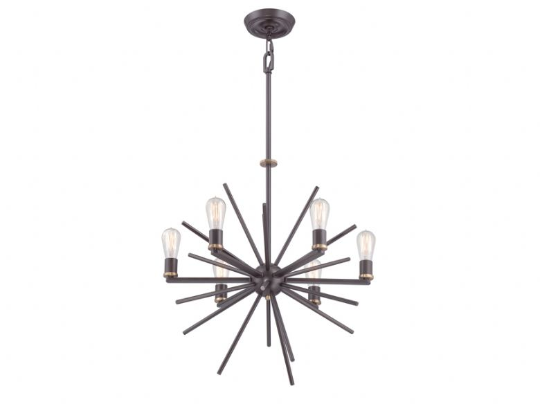 Carnegie 6 Light Chandelier
