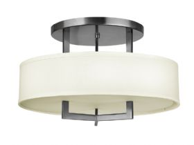 Hampton semi flush ceiling light