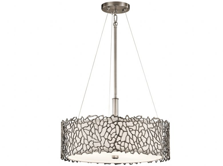 Silcoral Duo-Mount Pendant Light