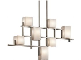 City Lights 7 Light Linear Chandelier