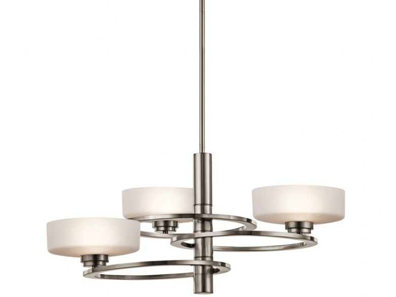 Aleeka 3 Light Chandelier