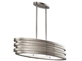 Roswell Oval Island Pendant Light