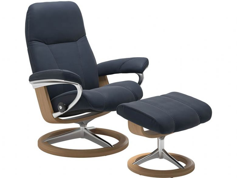 Stressless Chair & Stool - Signature Base