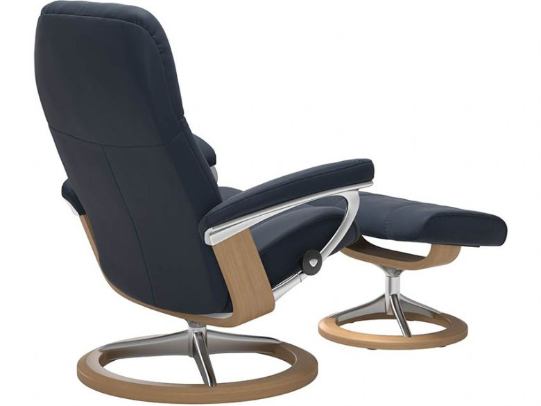 Stressless Consul Leather Chair in Cori Amarone Leather