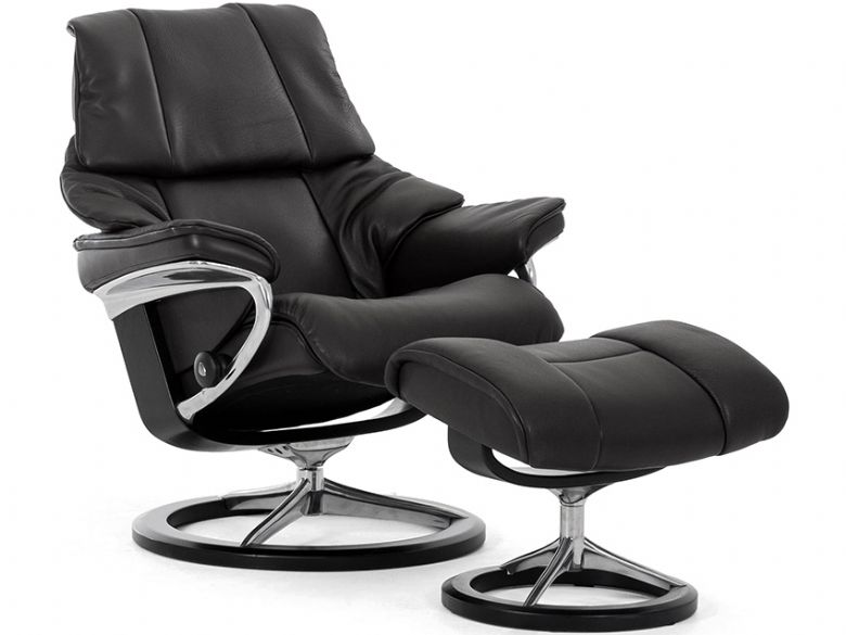 Stressless Reno Chair & Stool Signature Base