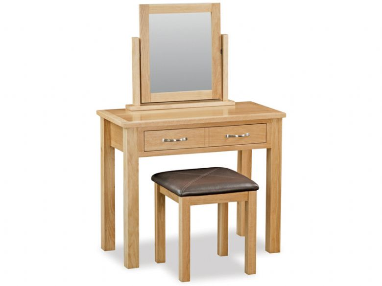 Stonehouse Oak Dressing Table Set