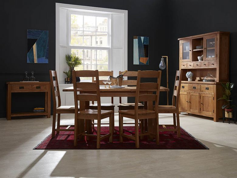 Fairfax Oak Dining Room Furniture