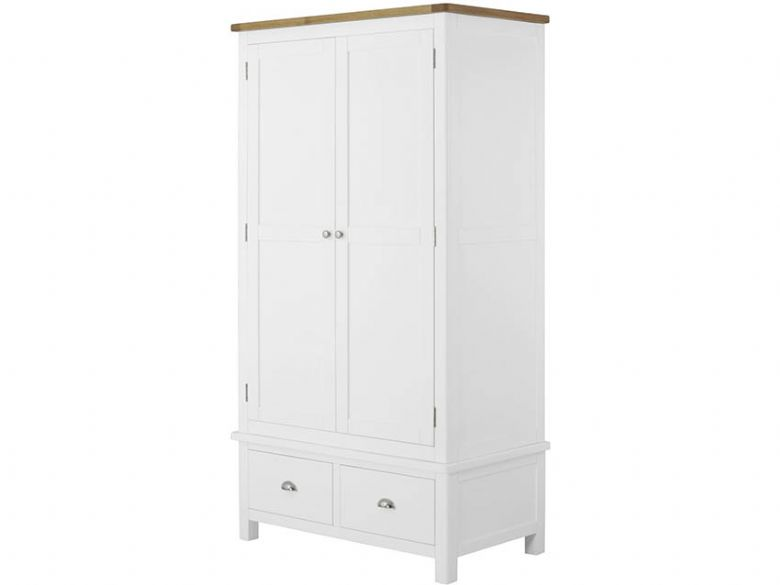 Hunningham Painted Gents Wardrobe